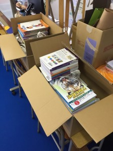 Processing new books