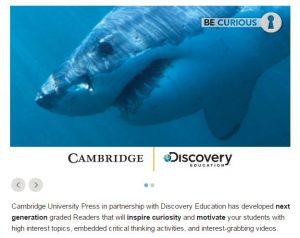 cambridge discovery interactive readers